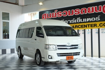 TOYOTA HIACE COMMUTER [ 2.5 ] MT ปี 2013