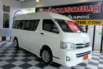 TOYOTA HIACE COMMUTER [ 2.5 ] MT ปี 2011